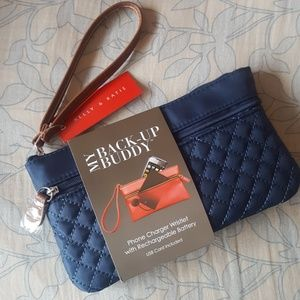 NWT Phone Charger Wristlet w/ Rechargeable BatteryNWT for sale